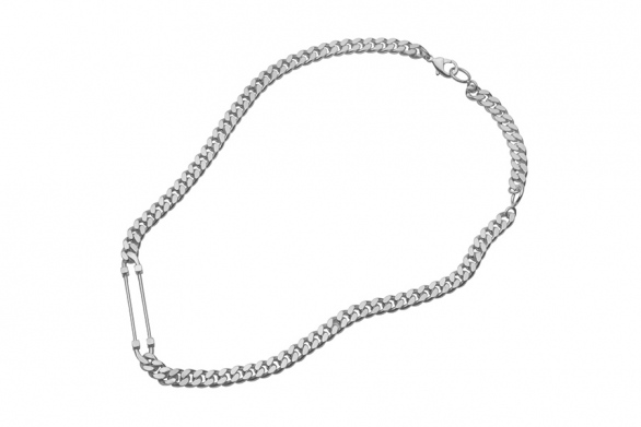 SCCP necklace silver