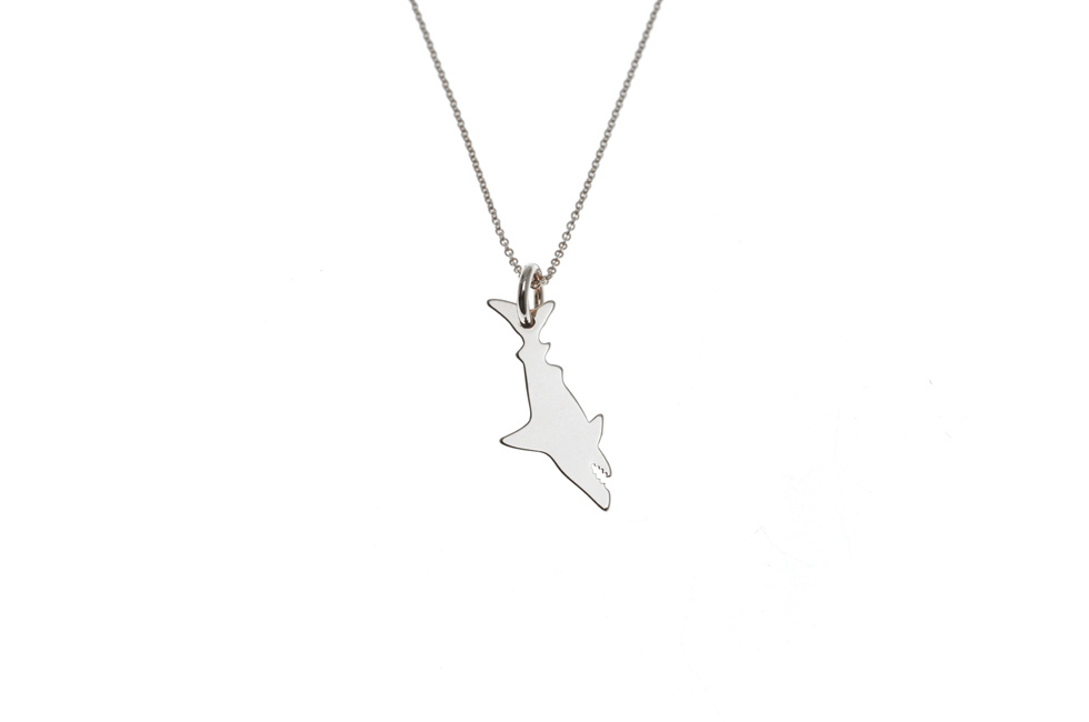 Necklace with Shark