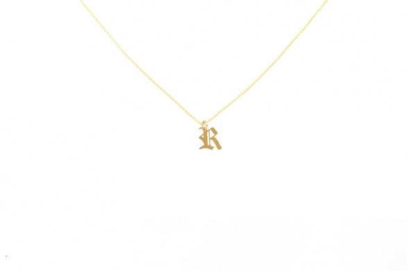 Alphabet NECKLACE Letter R