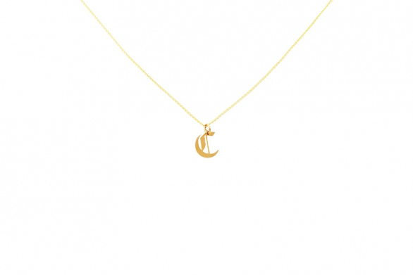 Alphabet NECKLACE Letter C