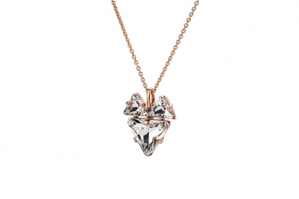 THE FOX NECKLACE rose gold