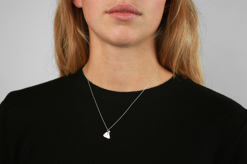 Necklace with Yacht