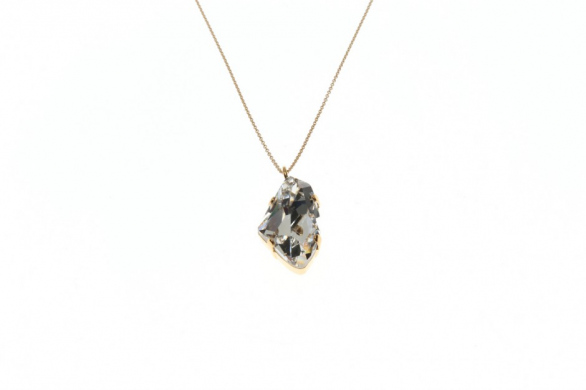 Necklace Fine Leo Crystal Rock Large