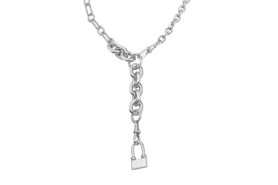 GRABO necklace silver