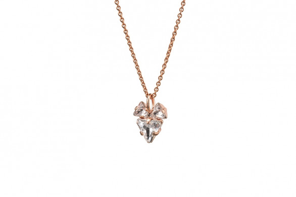 THE BABYFOX NECKLACE rose gold