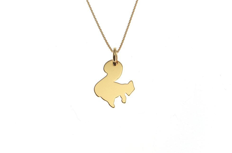 Necklace with Squirrel