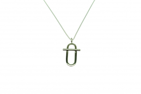 NECKLACE CURRENT ELLIPSE SMALL