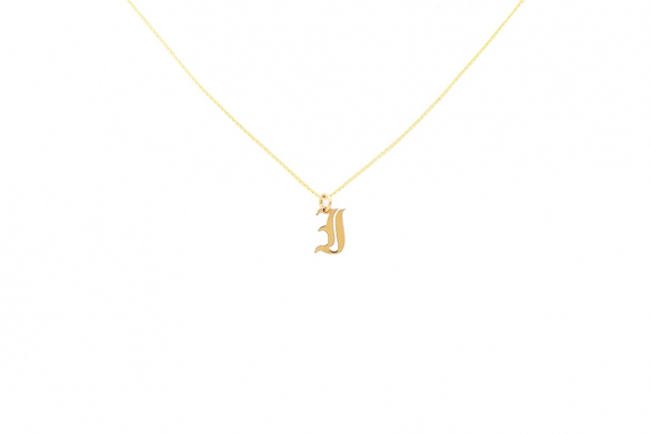 Alphabet NECKLACE Letter I