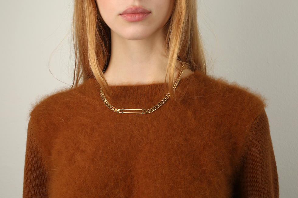 SCCP necklace gold