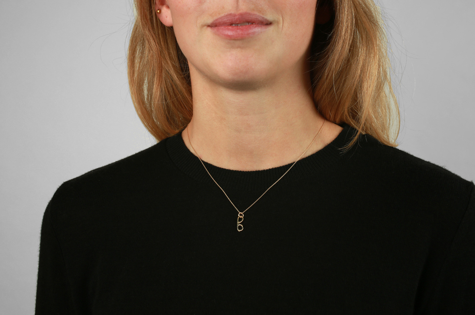 Necklace with Glasses