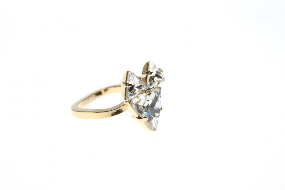 THE FOX RING gold