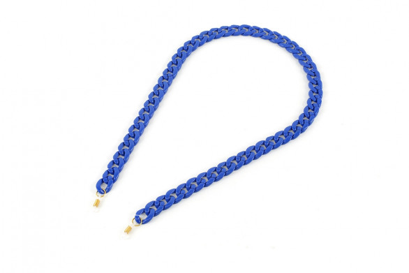 AC Brillenkette_royal blue
