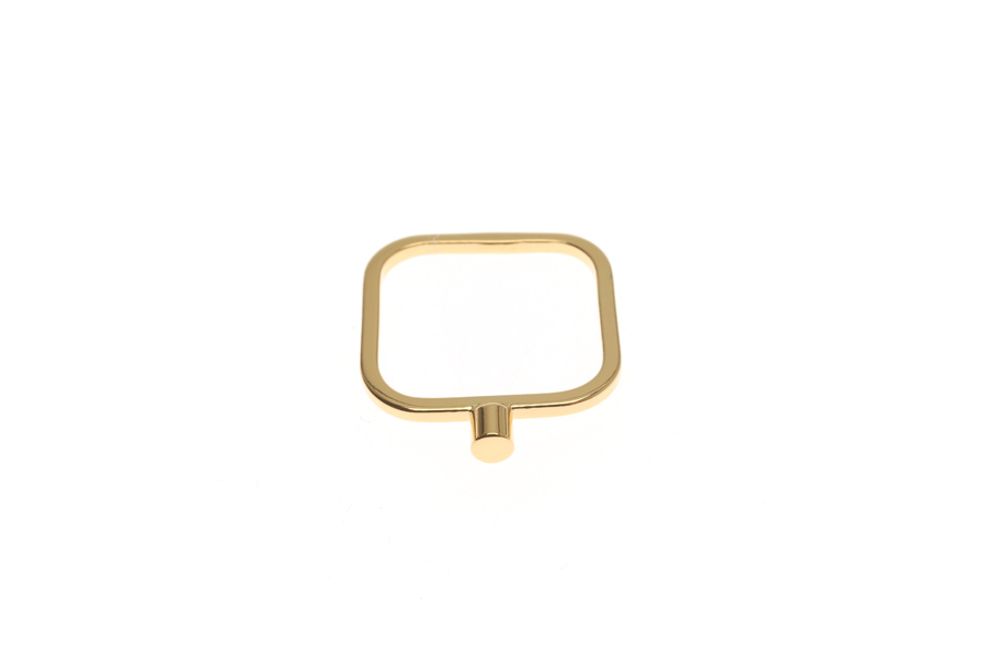 Superfine ring with a tube