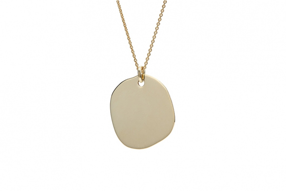 NECKLACE PENDANT BLANK 14CT GOLD