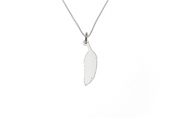 Necklace with Feather